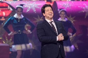Michael McIntyre's Big Christmas Show was the most-watched Tv show of Christmas Day. Pic: Hungry McBear/Gary Moyes.