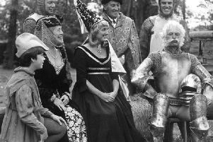 Members of the society when they staged Camelot in 1980.