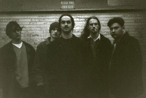 Crippling Jack, with  Iain Cunningham on the far right of the picture taken by Gary Wilkinson in 1996.