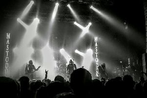Mastodon performing at the O2 Academy in Newcastle. Pic: Alistair Welford.