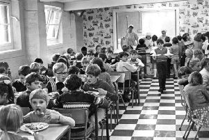 In October 1970, after 120 years, Barnes Road Junior School finally has a dining room, converted from the air raid shelter that stood in the yard. For many years the pupils have had to walk to Dean Road in all weathers for school dinners. The School Meals Acts of 1906 provided children with free school dinners.