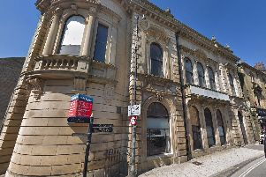The former Lloyds bank in Sowerby Bridge (Google Street View)