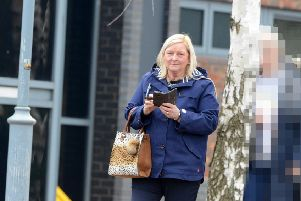 Lillian Handysides pictured outside South Tyneside Magistrates Court
