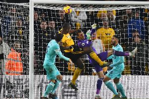 Fans were quick to react following Martin Dubravka's late error at Wolves.