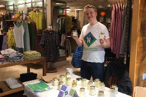 Jude Smith, year nine pupil at High Storrs School, Sheffield, and creator of organic candles which he sells under the brand Waxi Co.