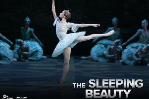 Boilshoi Ballet's The Sleeping Beauty is being shown at Trinity Arts Centre in Gainsborough next month