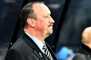 Newcastle United manager Rafa Benitez.