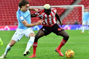 Sunderland striker Benji Kimpioka has impressed in the Checkatrade Trophy this season.
