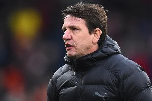 Daniel Stendel manager of Barnsley.  (Photo by Nathan Stirk/Getty Images)