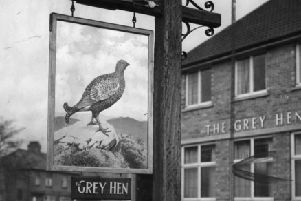 The Grey Hen public house pictured in 1957.