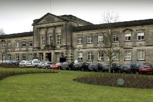 Future open to debate - The former Harrogate Borough Council offices at Crescent Gardens.