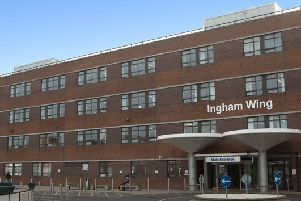 South Tyneside District Hospital in South Shields.