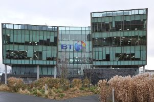 The BT centre in South Shields.