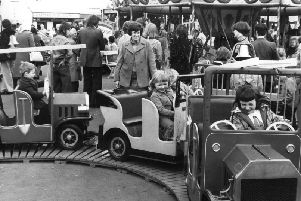 These youngsters in 1976 did not need a driving licence to drive these vehicles.
