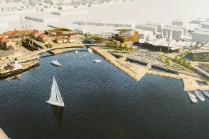 How Hartlepool Waterfront could look.