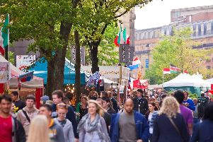 TheSheffield Global Village Market. The traders will bebringing street food, fresh food and arts and craft items from around the world to Fargate.