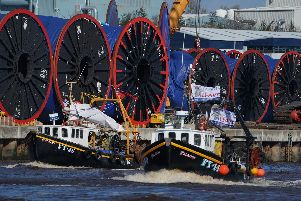 Fishermen's protest. Picture by Owen Humphreys/PA Wire