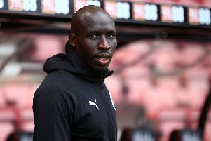 Mohamed Diame at the Vitality Stadium.