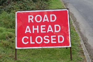 These are the roads that will be closed during this weekends Legend Fires North West Stages rally.