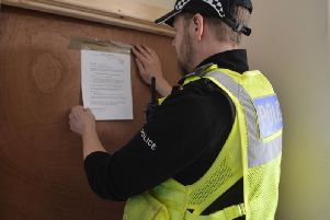 A flat in Fairfield has been closed down by police.