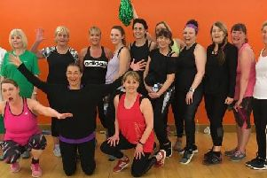Zumba fans raised a fantastic sum for Cancer Research UK at Crow Wood Leisure. (s)