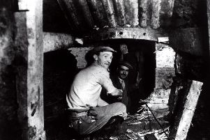 The tunnels under construction. Picture: North Tyneside Museums.