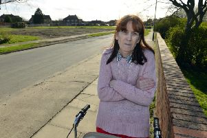 Eskdale Drive last tenant Jacqueline Shepard is concerned over house move.