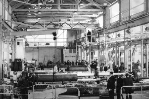 The new engineering shop of Peter Johnston and Co pictured in  November 1967.