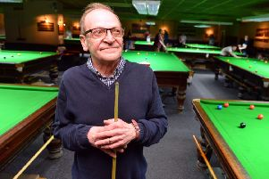 Chichester Snooker Centre manager John Maughan retires after 33 years.