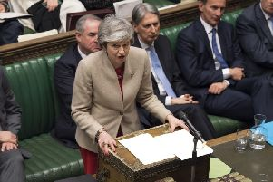 Prime Minister Theresa May. Image by PA.