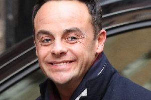 Ant McPartlin. Picture by Jonathan Brady/PA Wire