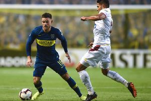Newcastle United have been linked with Nahitan Nandez