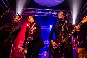 Jim Jones and the Righteous Mind at The Cluny. Pic: Mick Burgess.