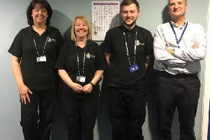 Members of forensic staff from Northumbria Police have moved offices and now work in Peterlee.