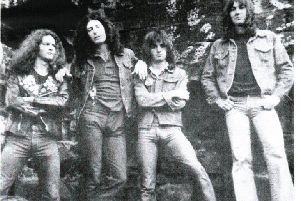 Hellanbach, the band which Kev Charlton thought would be his ticket out of the shipyards.