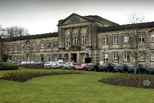 Historic heart of Harrogate - The former council headquarters at Crescent Gardens which now faces an uncertain future.