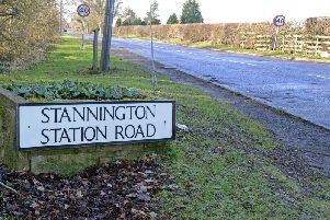 Stannington Station Road. Picture by Jane Coltman