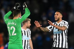 How Newcastle United's players reacted to the vital Leicester City victory