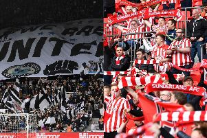 Newcastle and Sunderland are among the best-supported clubs in world football