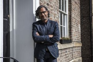 David Olusoga. Picture courtesy of the BBC.