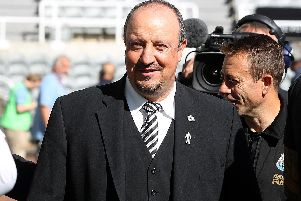 Rafa Benitez is reportedly eyeing 'the next Neymar' for Newcastle United