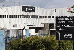 The distribution centre in South Elmsall.