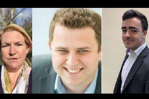 From left, Nikki Fothergill, Christopher Sayers, Cameron Stokell. No picture provided for Katherine Cook.