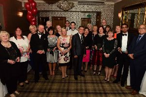 Some of the award winners at the Sunderland and South Tyneside Health Awards last year