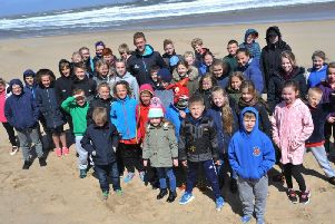The day down at Sandhaven Beach was packed with activities.