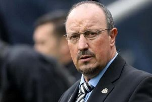 Rafa Benitez has named his Newcastle side to face Liverpool