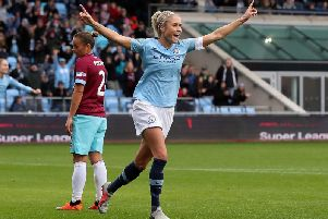 Steph Houghton. Photo by Martin Rickett/PA Wire.