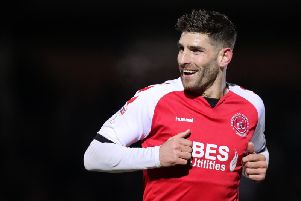 Fleetwood Town manager Ched Evans