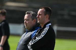 Kevin Bolam (left) took charge at Hebburn Town this week.