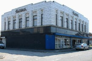 The old Burton's store in South Shields.